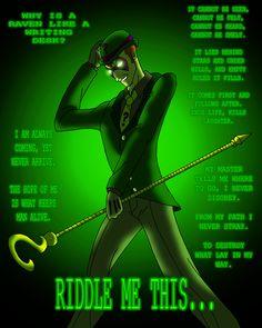 the riddler | Thread: The Riddler Appreciation Thread