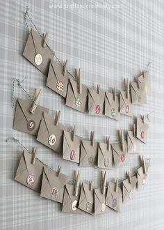 Gör en te-adventskalender – Make a tea advent calendar | Craft & Creativity | Bloglovin'