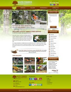 Tree Services Web Template
