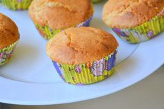 Passionfruit and Coconut Muffins