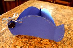 Look -  you can make your own paper tricorn hat!
