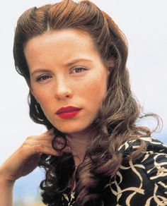 kate beckinsale's hair and makeup // pearl harbor