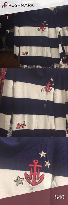 Tommy Hilfiger Girl Sweater 100% Cotton Tommy Hilfiger Girl Sweater 100% Cotton New with tag Tommy Hilfiger Sweaters