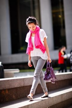 Color Me Spring :: Pink Scarf