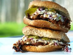 Dr Pepper BBQ Pork w/ Blue Cheese Coleslaw 3 pound pork roast (Or Beef or Chicken)  (NOT FROZEN) 2 T olive oil Montreal Steak Seasoning 3-4  Dr. Pepper or Coke   1 T Worcestershire 1 T   Liquid Smoke 1/2 Onion (minced/finely chopped) 1/2 Bell Pepper (minced/finely chopped) 1 1/2 - 2 C Sweet Baby Rays BBQ Sauce