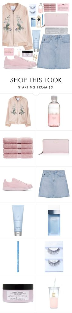 """I cannot let them win I have to be strong"" by floralandmay ❤ liked on Polyvore featuring MANGO, Lord & Berry, Christy, Kate Spade, adidas Originals, AG Adriano Goldschmied, Drybar, Dolce&Gabbana, Too Faced Cosmetics and Davines"