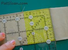 "You loved our first roundup of author tutorials so much, we've done it again! Click through for 6 more helpful quilting tutorials from popular Martingale authors (including how to test your ¼"" seam allowance with Pat Sloan, shown here)."