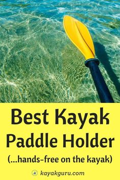 Today we look at the Best Paddle Holders for Kayaks. Kayak Fishing Tips, Kayaking Tips, Best Fishing, Fishing 101, Kayak Anchor, Kayak For Beginners, Angler Kayak, Kayak Paddle, Surfing Pictures