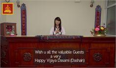 Wish u all the valuable guests a very Happy Vijaya Dasami. (#Dashain)  - Team Hotel Yambu http://www.hotelyambu.com/