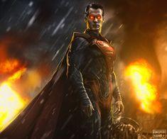 ArtStation - Injustice Superman, Rodrigo Puerto Evil Superman, Henry Superman, Superman Stuff, Superman Art, Superman Family, Batman, Superman Pictures, Injustice 2, Smallville