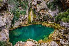 Salto de los Órganos, Sierra de Cazorla. by MariusR., via Flickr