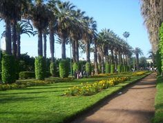 nog een mooi park van casablanca