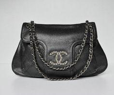 Chanel Lambskin Accordion Flap Bag