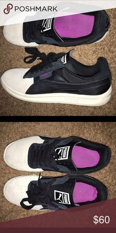 PUMA Shoes Suede and leather. Like new very gently worn. Size 9. Puma Shoes Sneakers