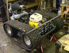 how to make a personal tracked vehicle