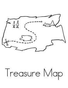 coloring page w/ changeable text! M is for Map! | Coloring ...
