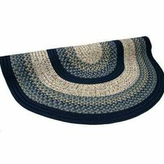 "Beantown Charles River Blue Rug Size: Round 7'6"" . $614.00"