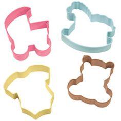Cookie Cutter Set - Baby