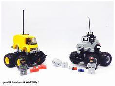 LEGO LUNCHBOX & Wild Willy 2 | by gene 3S