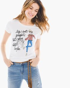 This fun graphic tee