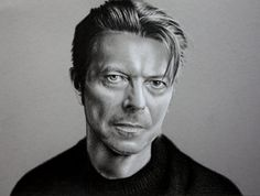 David Bowie Drawing by PassionDraw on Etsy