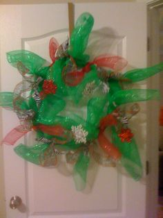 My Zebra Wreath :)
