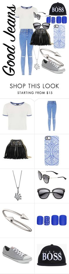 """""""<3 <3 <3 <3"""" by hannahkeyez ❤ liked on Polyvore featuring Topshop, Diane Von Furstenberg, Uncommon, Christian Dior, Jules Smith, Static Nails and Converse"""