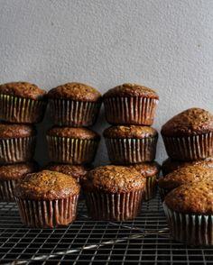 Muffins à la banane et au café