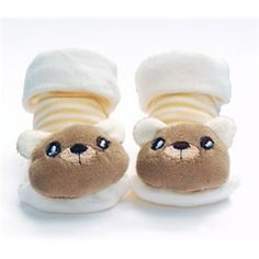 Too Cute Kids Bear Slippers