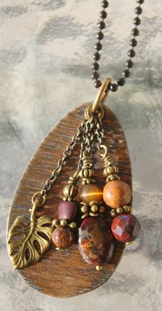 Hammered Spoon Necklace