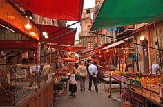 mercato di Ballarò, Palermo, Sicilia, Italia