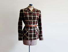 "Rationing Fashion: Women's Clothing of WWII - USA hub page, but this could be made from a padded or unpadded ""lumberjack"" shirt with a lot of care"