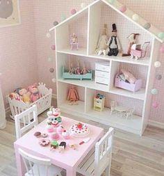 10 ideias criativas decoracao quarto menininas casinha de bonecas 1