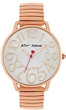 Ladies' Rose Gold Spiral Watch