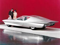 1964 Turbine-Powered GM Firebird IV | Displayed at Futurama, New York World's Fair
