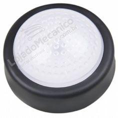 Luminaria Grande De Led Super Potente De Toque Com Adesivo Colante