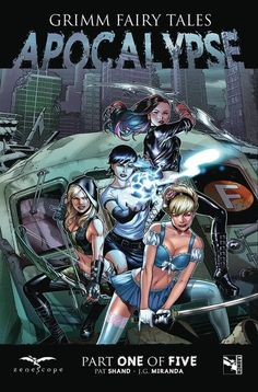 DEAL OF THE DAY Grimm Fairy Tales Presents Apocalypse #1 (Cover A - Chen) - $2.59 Retail Price: $3.99 You Save: $1.40 THE FOUR HORSEMEN! NEW SERIES! FEATURES: Robyn Hood, Hellchild, Cinderella, Marian Quin! The casts of Zenescope's flagship series - Grimm Fairy Tales, Robyn Hood, and Hellchild - unite for an event to end all comic book events. TO BUY NOW CLICK LINK BELOW http://tomatovisiontv.wix.com/tomatovision2#!comics/cfvg