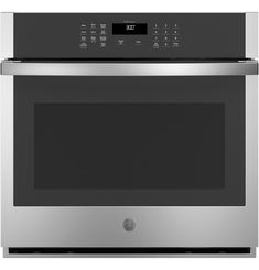 GE® 30 Smart Built-In Self-Clean Single Wall Oven with Never-Scrub Racks Kitchen Oven, Kitchen Appliances, Clean Oven Door, Single Wall Oven, Electric Wall Oven, Stainless Steel Oven, Appliance Packages, Oven Cooking, Cool Kitchens