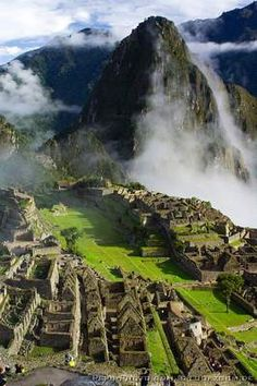 Machu Pichu, Peru..when my husband  asked me where would I want to go on our honeymoon almost 30 years ago - I said Machu Pichu. We went. It was a profound experience I will never forget.