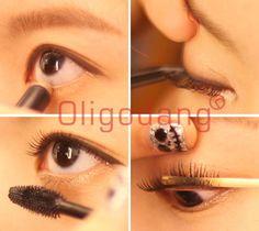 #oligodang #cosmetic #makeup 올리고당 눈화장하는방법 돌출눈은 절대로 속눈썹 강조하면 안된다