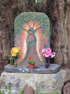 Mexican Altar found near Cuernavaca, MX it also looks like a shiva lingam