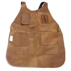 LONG APRON WITH FLAPS