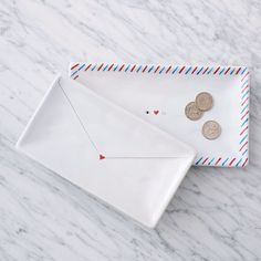 Love Letter Trays | West Elm
