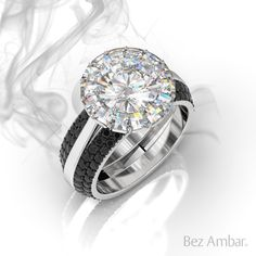 adbbeb026 Bez Ambar: Custom Engagement Rings and Fine Jewelry. Gold PlatinumBlack  DiamondsPrincess Cut DiamondsI Love ...
