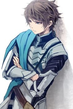Anime soldier boy