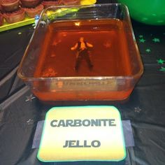 Star Wars Party - Free Han Solo from the Carbonite Jello