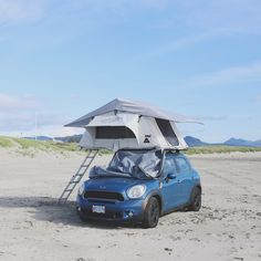 roof tent - what an awesome idea