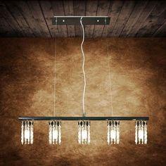 *1439 LAMPA SUFITOWA ŻYRANDOL KRYSZTAŁOWY SZEROKI