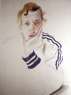 David Hockney:  Gregory,  Drawing (1978)  Originally posted by disciplinethepainter