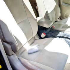 How To Clean Car Seats With Washing Soda And Dishwashing Liquid Cleaning Hacks